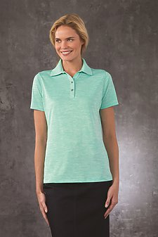 Lady Dakota Striated Polo